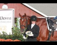 Dressage At Devon 2014: High Score Pony Club Award